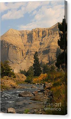 Canvas Print featuring the photograph Sunset River by Robert Pearson
