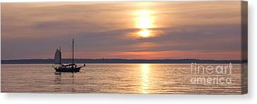 Sunset Sail Canvas Print by Idaho Scenic Images Linda Lantzy