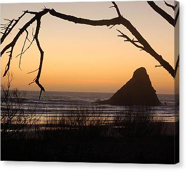 Sunset  Canvas Print by Scott Gould