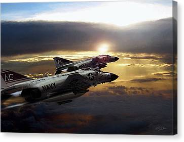 Carrier Canvas Print - Sunset Section by Peter Chilelli