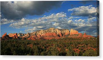 Sunset Sedona Style Canvas Print