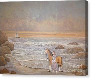Sunset Serenade Canvas Print
