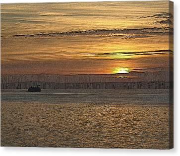 Sunset Serenade Canvas Print by Tim Allen