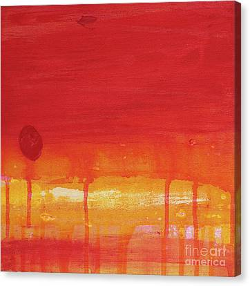 Sunset Series Untitled II Canvas Print by Nickola McCoy-Snell