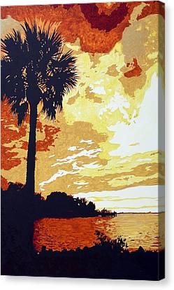 Sunset  Canvas Print by Sheri Buchheit