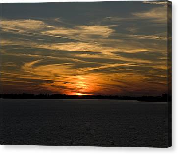 Sunset Sky Canvas Print by Phil Stone