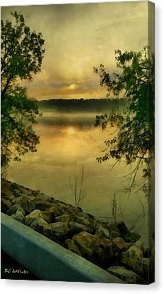 Sunset Splendor Canvas Print by RC deWinter