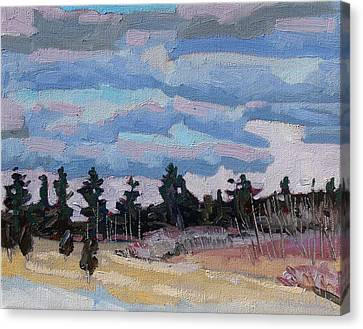 Sunset Stratocumulus Singleton Canvas Print by Phil Chadwick
