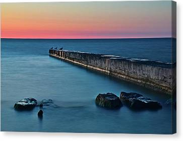 Sunset Stretch Canvas Print by Frozen in Time Fine Art Photography