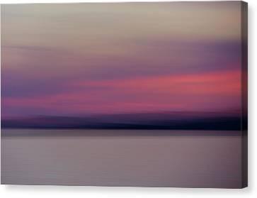 Sunset Time Canvas Print