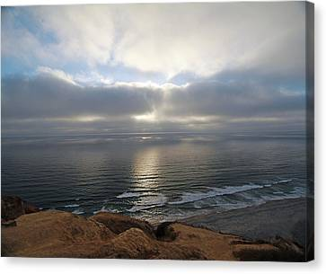 Sunset Torrey Pines Number One Canvas Print
