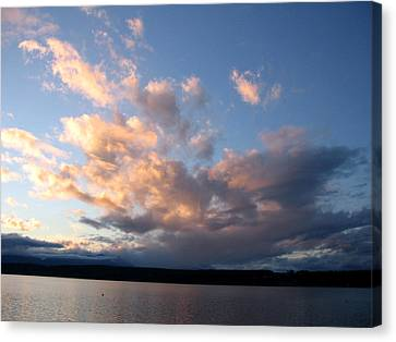 Sunset Two Canvas Print by Ty Nichols