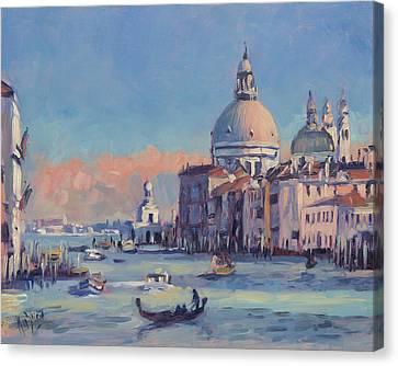 Canvas Print - Sunset Venice by Nop Briex