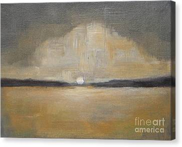 Sunset Canvas Print by Vesna Antic
