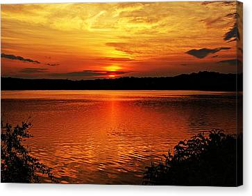 Sunset Xxiii Canvas Print
