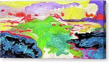 Sunsetting #10 Canvas Print