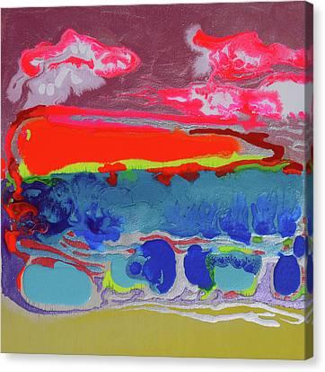 Sunsetting #2 Canvas Print