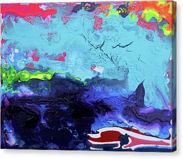 Sunsetting #6 Canvas Print