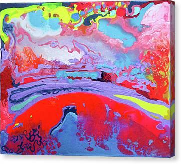 Sunsetting #8 Canvas Print