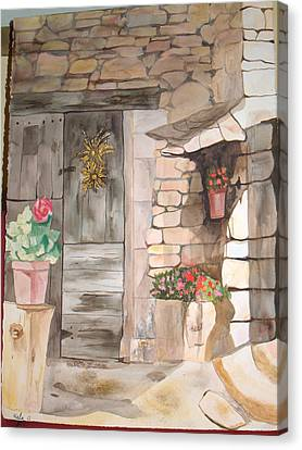 Sunshine Canvas Print by Aline Kala