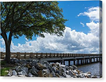 Sunshine And Clouds Canvas Print by Gregg Southard