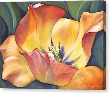 Close Up Canvas Print - Sunshine Dance by Sandy Haight