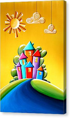 Sunny Canvas Print - Sunshine Day by Cindy Thornton