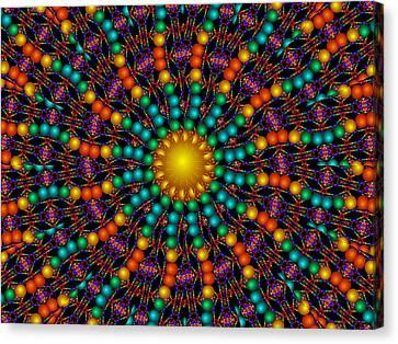 Canvas Print featuring the digital art Sunshine Daydream by Robert Orinski