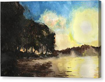 Sunshine Is Fine Canvas Print by Matt Burke