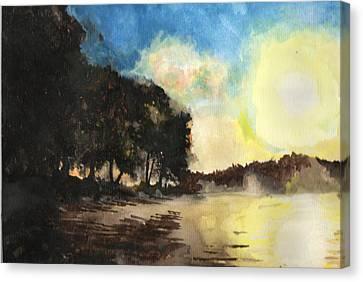 Sunshine Is Fine Canvas Print
