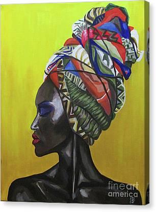 Sunshine Canvas Print by Kateryna Bortsova