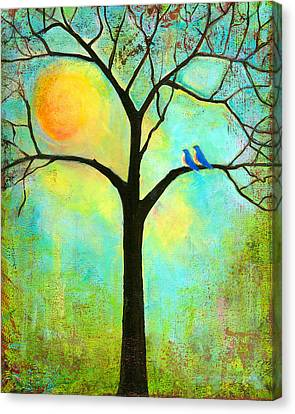 Sunshine Tree Canvas Print