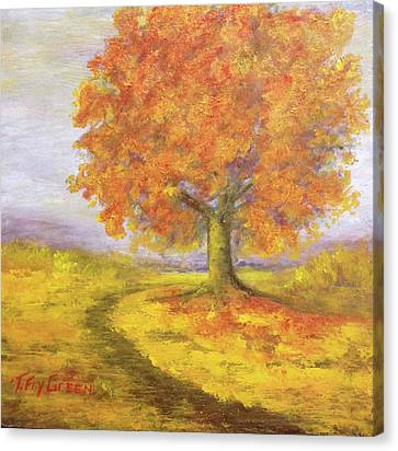 Sunshiney Kind Of Morning Canvas Print