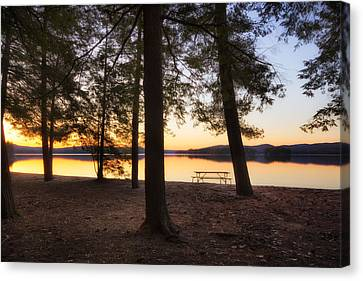 Canvas Print featuring the photograph Sunup by Robert Clifford