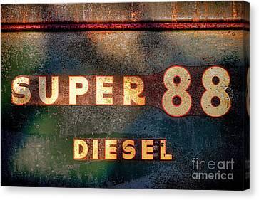 Super 88 Diesel Canvas Print by Olivier Le Queinec