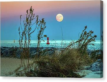Super Moon 2016 Canvas Print by Jerry Gammon