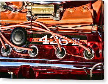 Super Stock Ss 426 IIi Hemi Motor Canvas Print by Gordon Dean II