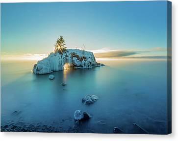 Superior Sunrise // North Shore, Lake Superior  Canvas Print