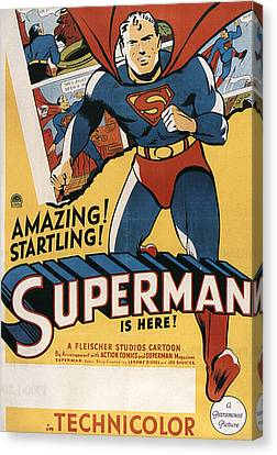 Superman, 1941 Canvas Print by Everett