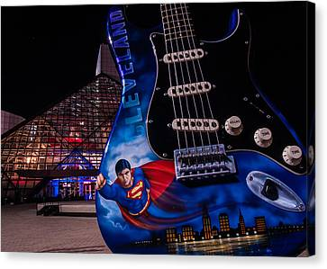 Superman Rocks Canvas Print