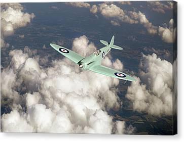 Supermarine Spitfire Prototype K5054 Canvas Print by Gary Eason