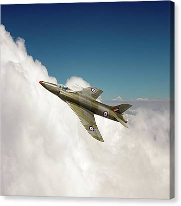 Canvas Print featuring the photograph Supermarine Swift Wk275 by Gary Eason