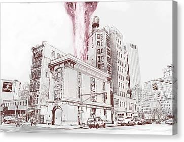 Supernatural Insurance Claim Canvas Print by Kurt Ramschissel