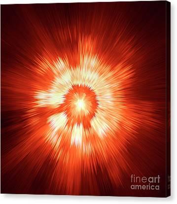 Supernova 2 Canvas Print by Steve K
