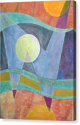 Superposition II Canvas Print by Jennifer Baird