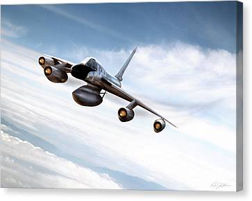 Supersonic Sensation Canvas Print by Peter Chilelli