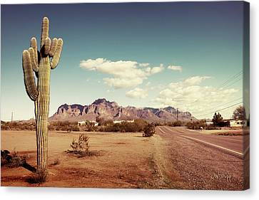 Superstition Canvas Print