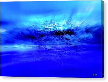 Superstorm At Sea Canvas Print