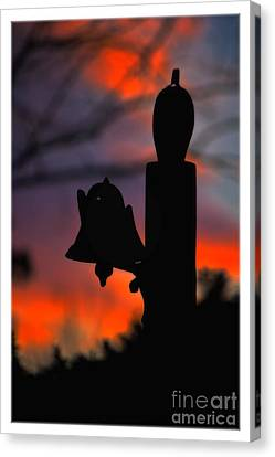 Supper Bell At Sunset Canvas Print