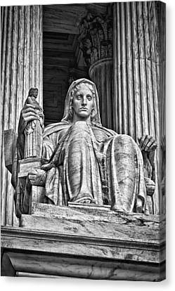 Supreme Court Building 13 Canvas Print by Val Black Russian Tourchin